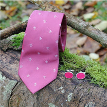 Load image into Gallery viewer, Wool Cufflinks - Fuchsia