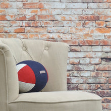 Load image into Gallery viewer, Rugby Ball Cushion - Rugby Union Jack