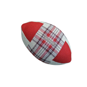 Rugby Ball Cushion - Rose