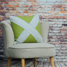 Load image into Gallery viewer, Saltire Smash - Lime Green