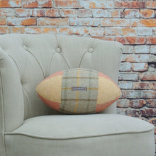 Load image into Gallery viewer, Rugby Ball Cushion - Melrose