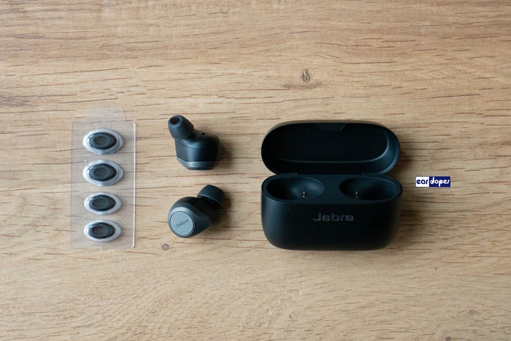 Jabra 85t package ear tips oval