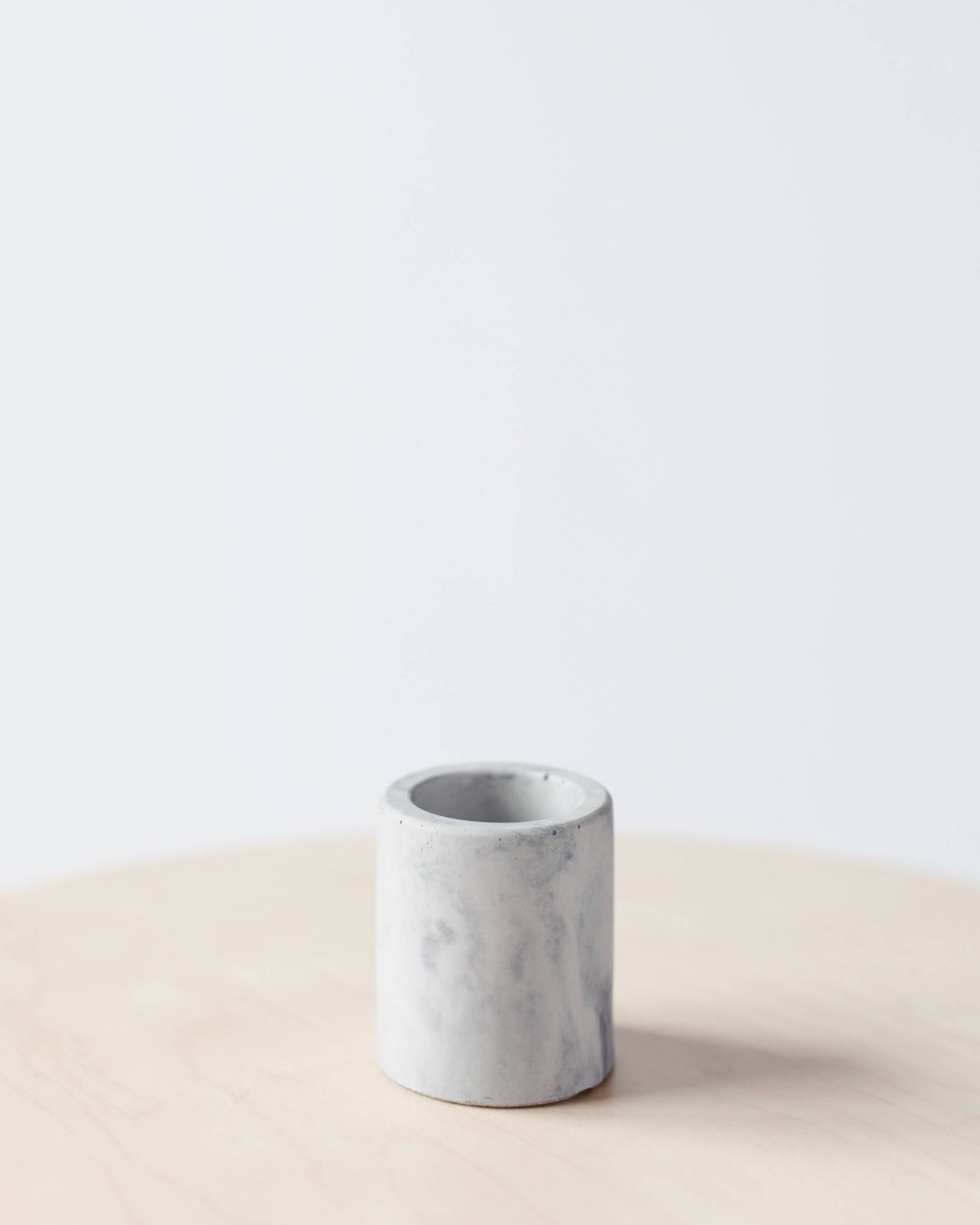 Concrete Days - Marble Cylinder Mini Planter