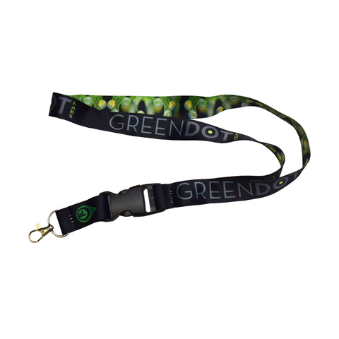 Green Dot Labs Trichrome Photo Buckle Lanyard