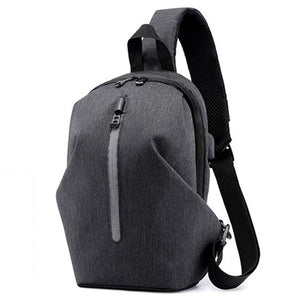Transer USB Charge Chest Bags Male Men Chest Waist Pack Antitheft Travel Crossbody Bags For Men Sling Shoulder Bag  Phone Pouch