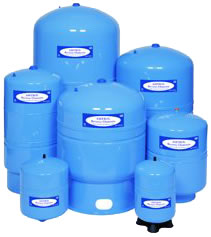"Amtrol (147-69) RO Steel Pressure Tank 44 Gallon 1-1-4"" NPT Blue"