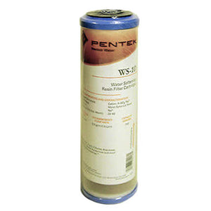 "Pentek - WS-10 - 10"" x 2.5"" Water Softening Resin Filter"