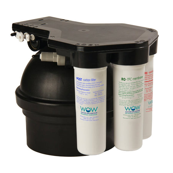 Water-On-Water - WOW 3 Stage Reverse Osmosis System 50 GPD