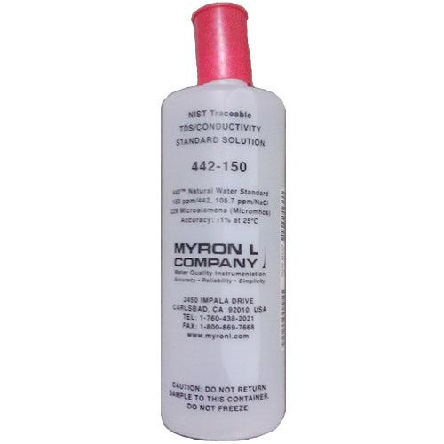 Myron L (442-300) 442 Natural Water Standard Calibration Solution 300 PPM