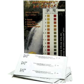 Sensafe (481104-1) Extended Range pH Check; Individual Foil Pack Test Strips