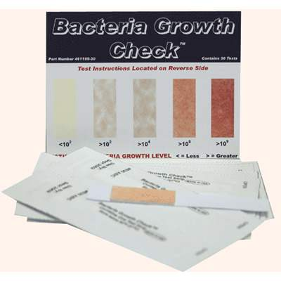 Sensafe (481195-30) Bacteria Growth Check Kit Test Strips