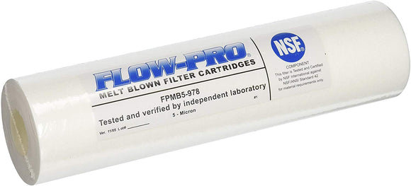 WATTS (FPMB5-978) FLOW-PRO 5M-4PK 5-Micron Sediment Water