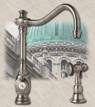 Waterstone (1100HC-CH) Annapolis Chrome Hot-Cold Faucet