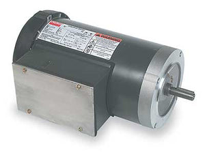 Marathon Electric (S2213) GE NEMA 56C Frame Bolt-on Motors, TEFC 2 HP; 3-PHASE; 230V-460V