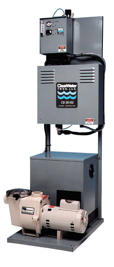 Clearwater (POE150) POE 115-Skid 3-4HP 120V 60Hz 2.8GH