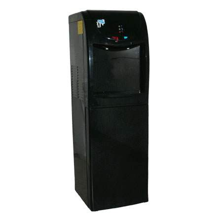 Kool Tek (FHCB-2) G2 Dual Temperature Hot-Cold Floor Standing Water Cooler; Black; 120V