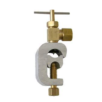 Hydro Systems (SVN6) C-Clamp Style Self-Piercing Feed Valve 1-4