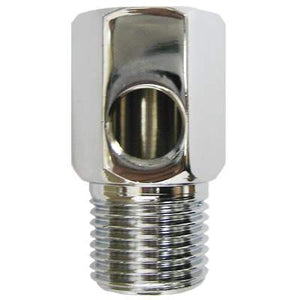 "TGI Pure (VV-WWC-14) Feed Water Adapter Chrome 1-2"" FNPT x 1-2"" MNPT x 1-4"" FNPT"