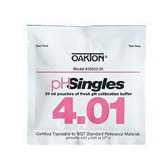 Oakton (WD-35653-01) pH 4.01 Pouches 20-Box