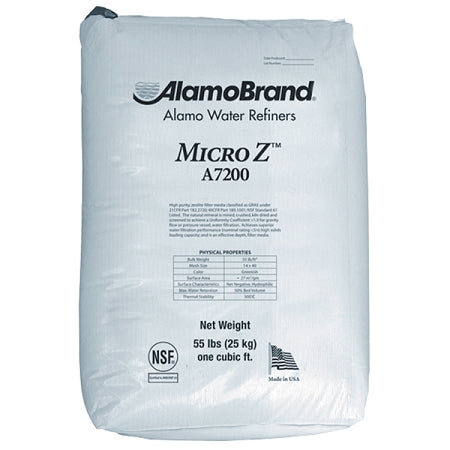 Alamo Brand (A7200) Micro-Z Zeolite Media for Sediment Filtration 1 Cubic Foot