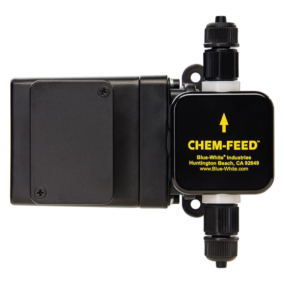 Blue & White (C-645P-230V) Chem-Feed C-600P Series CHEM-FEED 91 GPD; 230V-60HZ