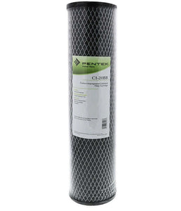 "Pentek - C1-20BB - 20"" x 4.5"" Carbon Impregnated Cellulose 5 Micron Filter"