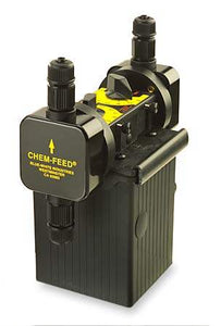 Blue & White (C17N303X410VA2) Chem-Feed C-1700N Series Injector Pumps 150 GPD;DUAL HEAD 115V