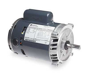 Marathon Electric (C446) GE NEMA 48YZ Clamp-on Carbonator Motors, 1-Phase, 1-2 HP;115-230V