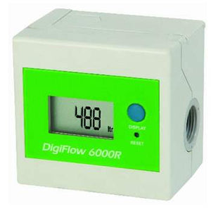 Savant (DF066L) Digiflow 6000RL Mulifilter Digital Flow Meter; Liters
