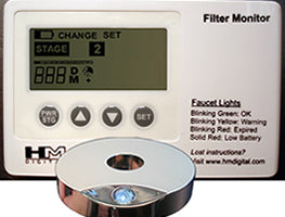 HM Digital (FM-1) Filter Monitor w- Water Flow Switch