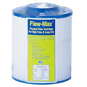 Watts (FMHC-40-50EZ) Flow-Max Jumbo Hurricane 50 Micron Mesh Synthetic Filter
