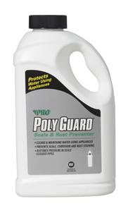 Pro Products Poly Guard® Crystals - Prevent Hard Water Scale Scale & Rust Preventer