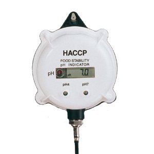 Hanna (HI981400) pH Meter and Indicator with Alarm for HACCP and QC