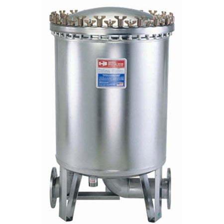 Harmsco (HIF-150) Stainless Steel Cartridge Cluster Filter Housing 150 Filter;600GPM; 4