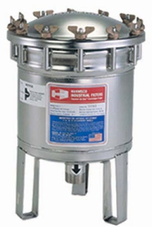 Harmsco (HIF-7) Stainless Steel Cartridge Cluster Filter Housing 7 Filter;30GPM; 1.5