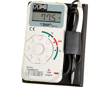 HM Digital (TM-1) Industrial-Grade Digital Thermometer-Monitor