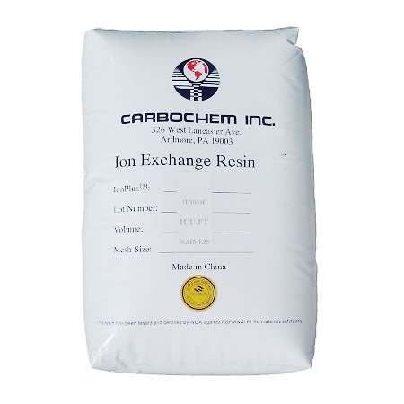 CarbonChem (IONPLUS MB-30) Mixed bed Ion Exchange Resin (1 Cubic Foot CF)