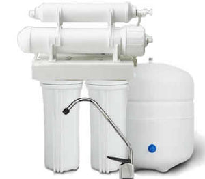Isopure Water (ISO-RO4) 4 Stage Reverse Osmosis System 50 GPD