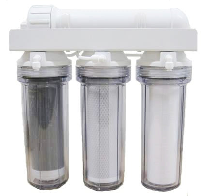 Isopure Water (ISO-RO4DI) 4 Stage Reef-Aquarium Deionized Reverse Osmosis Water Filter System 75 GPD