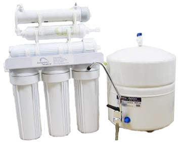 Isopure Water (ISO-RO6UV) 6 Stage Reverse Osmosis System 50 GPD w- UV Filter