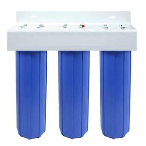 "Isopure Water (ISO-WH3-20B) Triple Stage 20"" Big Blue Boy Whole House Filter"