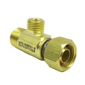 "Max Adaptor (65-2002) Brass 1-2"" C x 1-2"" C x 1-4"" C (No Adapter)"