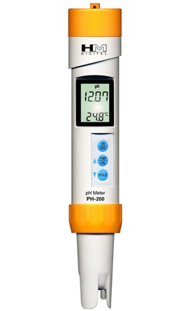 HM Digital (PH-200) pH Handheld Meter-Monitor