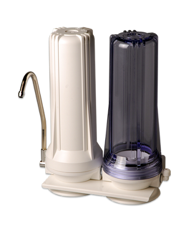 Isopure Water (CT-DBL2) Double Stage Counter-Top Water Filter