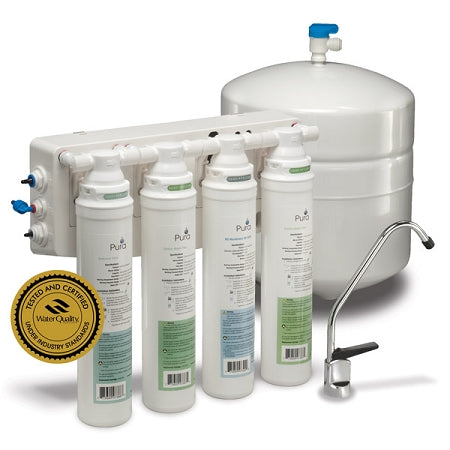 IPW Industries (1340302-60) QCRO4V-50 Pura Quick-Change 50 GPD Reverse Osmosis Water Filter System