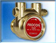 Procon (104B240F11BA225) 240 GPH BRASS PUMP; 225 PSI