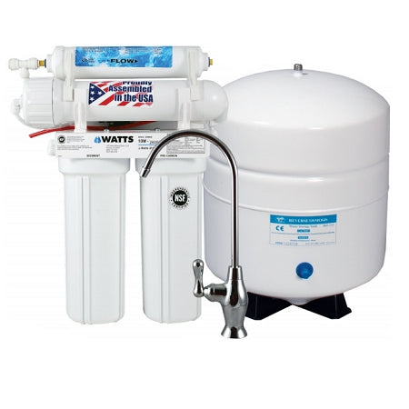 Watts (W-415NF) 4 Stage Reverse Osmosis System 50 GPD without Faucet
