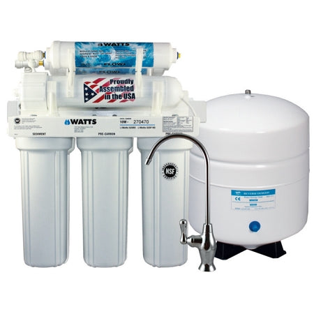 Watts (W-525) 5 Stage Reverse Osmosis System 50 GPD