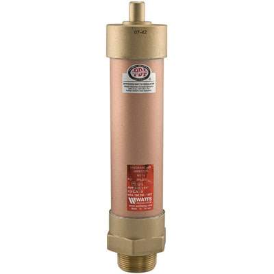 Watts (LF15M2-A) Mini Water Hammer Arrestor - Pressure Regulator 1-2