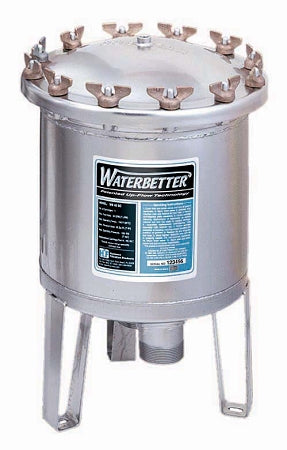 Harmsco (WB-40-SC) Waterbetter Single Filter Housing 50 GPM; 2